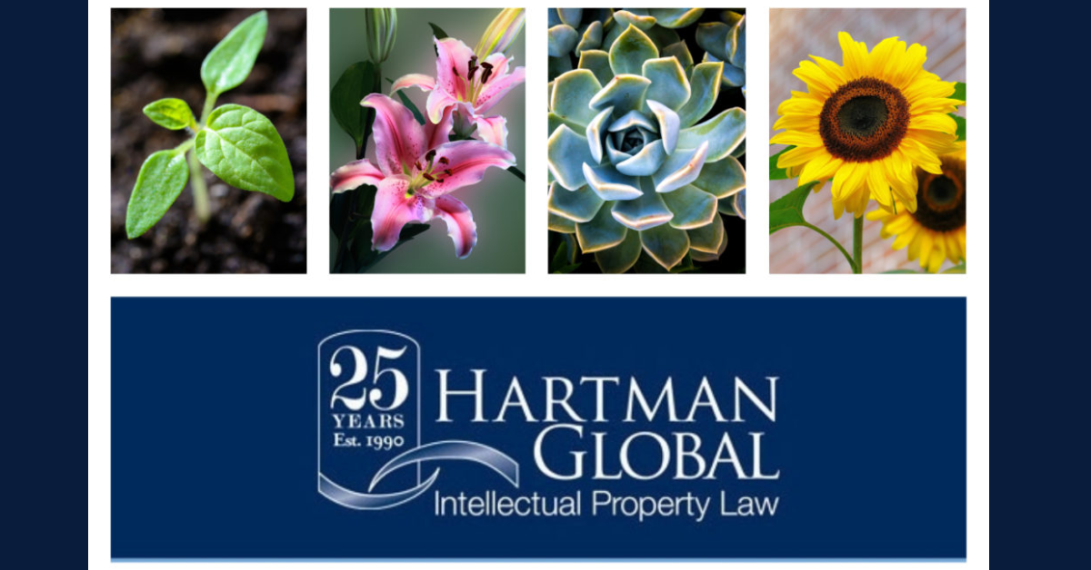 Hartman Global IP Law: Plant Patents 101