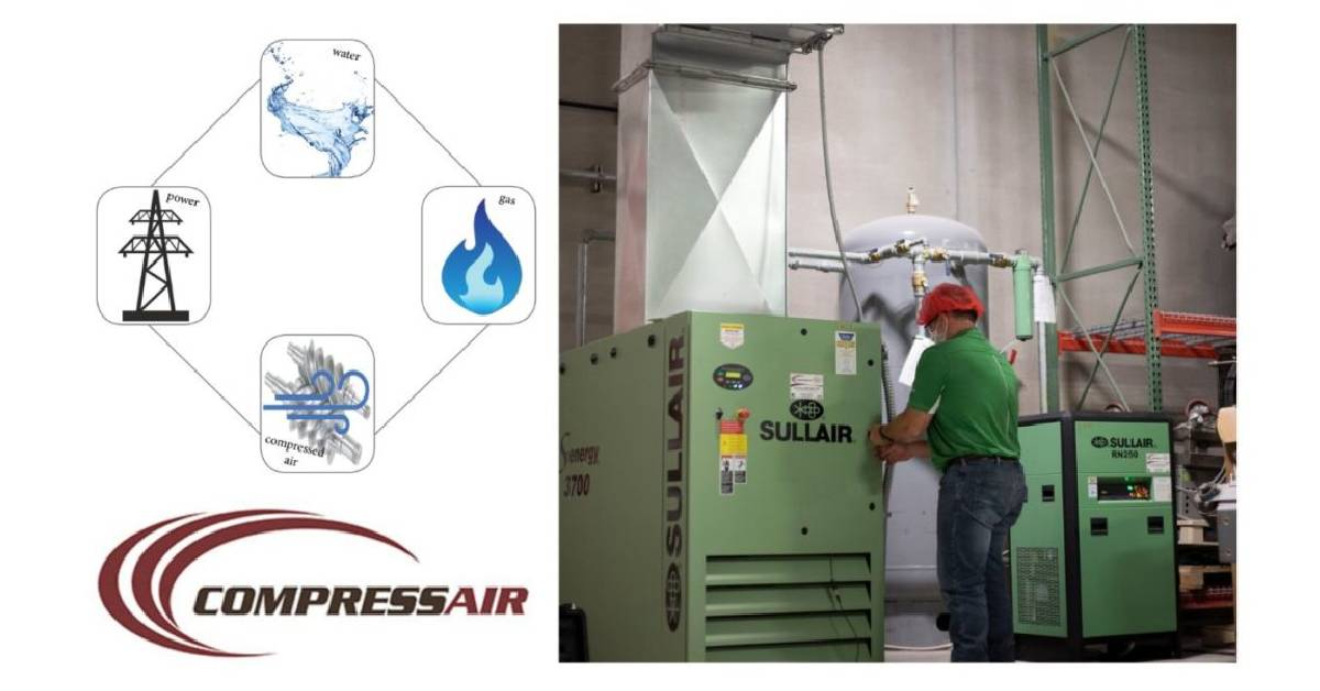 Electric, water, gas, and the 4th utility: compressed air