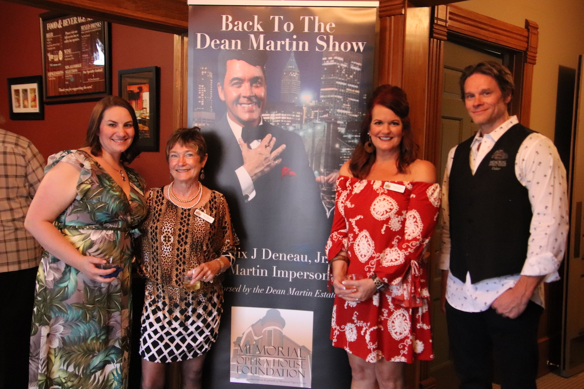 Memorial Opera House Foundation Presents Back To The Dean Martin Show