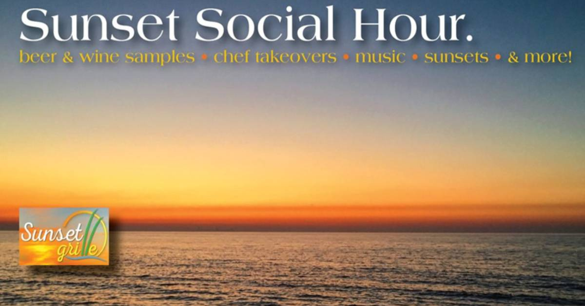 Sunset Social Hour at Sunset Grille