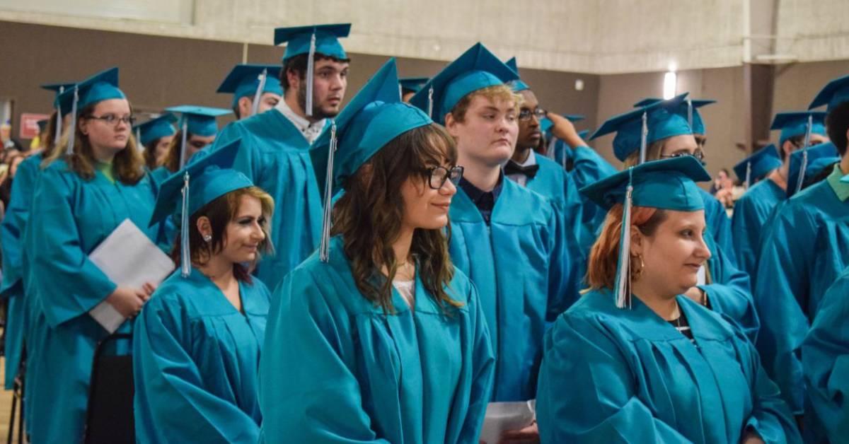 Neighbor's New Vistas Students graduate with high hopes