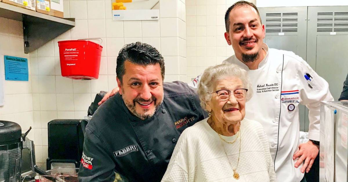 Iron Chef Judge Mario Rizzotti Brings 'Taste of Italy' to Hartsfield Village continuing care retirement community