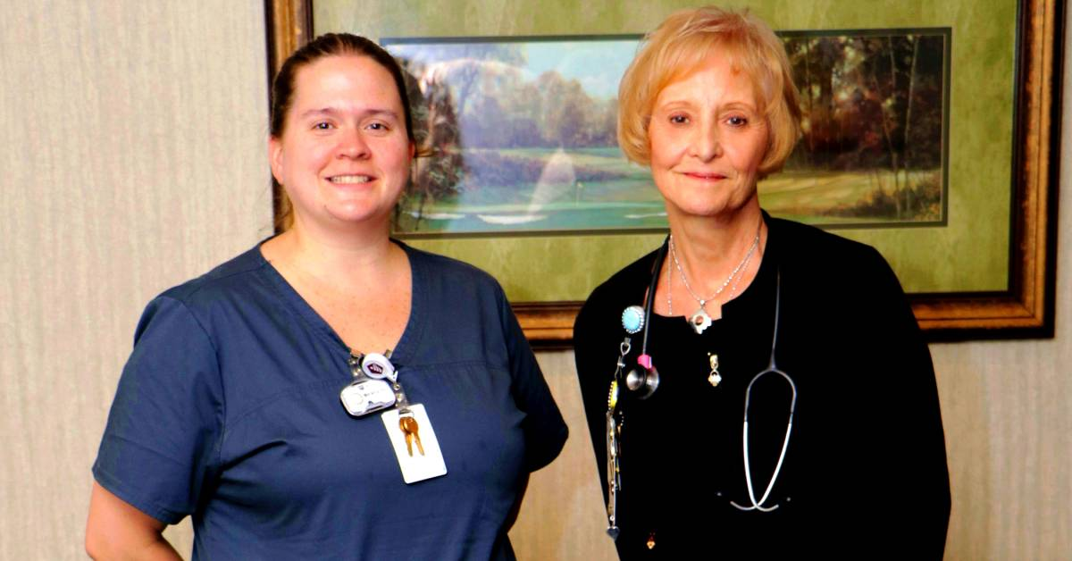 Community Hospital staff celebrates top nurse/caregiver