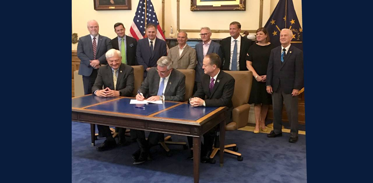 Indiana Governor Signs Law Creating Innovative Data Center Tax Incentive; Expected to Help State Attract Cutting Edge Business