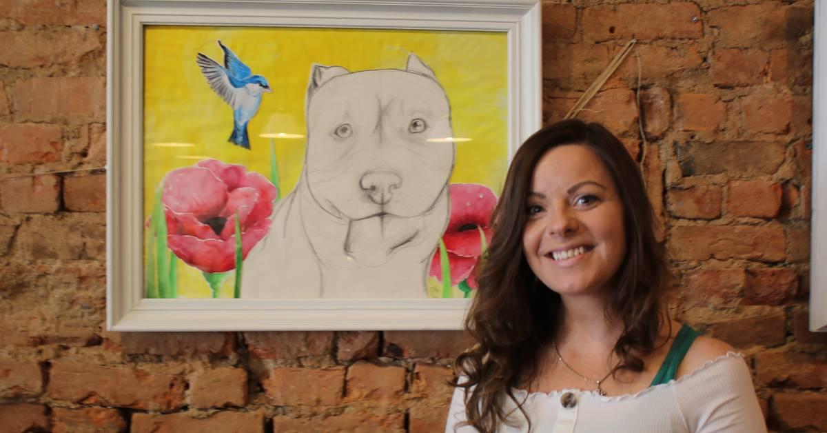 Jessica Corral Displays Art Exhibit at Blackbird Café