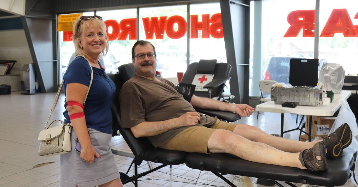 Christenson Chevy Superstore connects community through Blood Drive