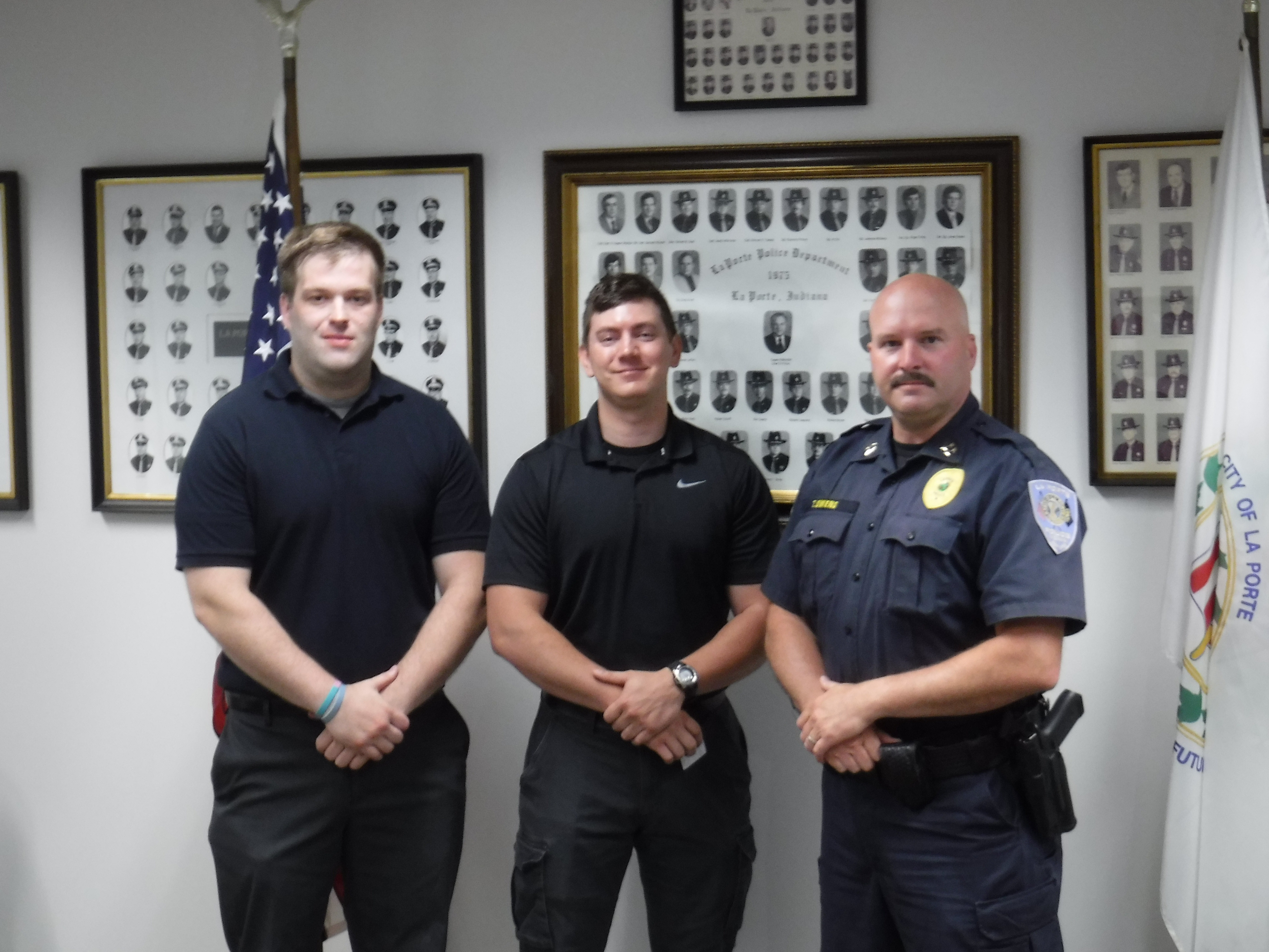 La Porte Police Department welcomes two new officers