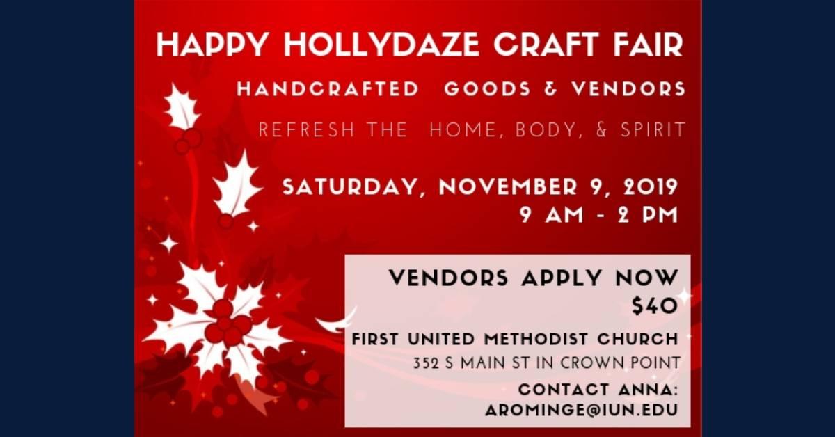 First United Methodist Church Happy Hollydaze Craft Fair