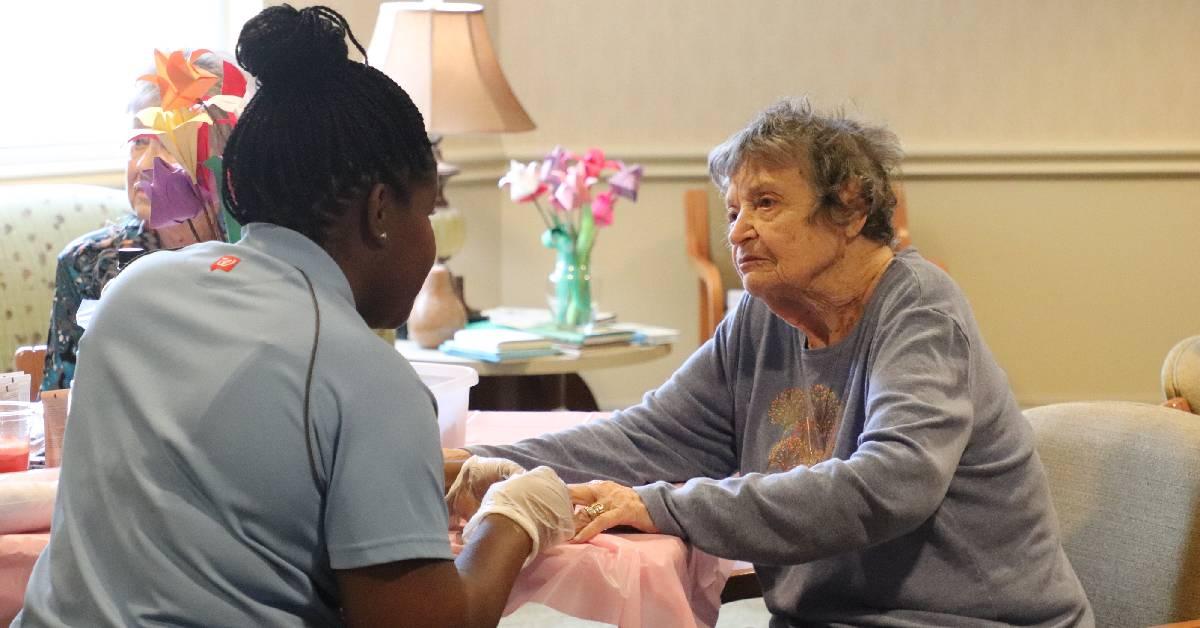 Gorgeous Grandma Day celebration at Deer Creek Senior Living