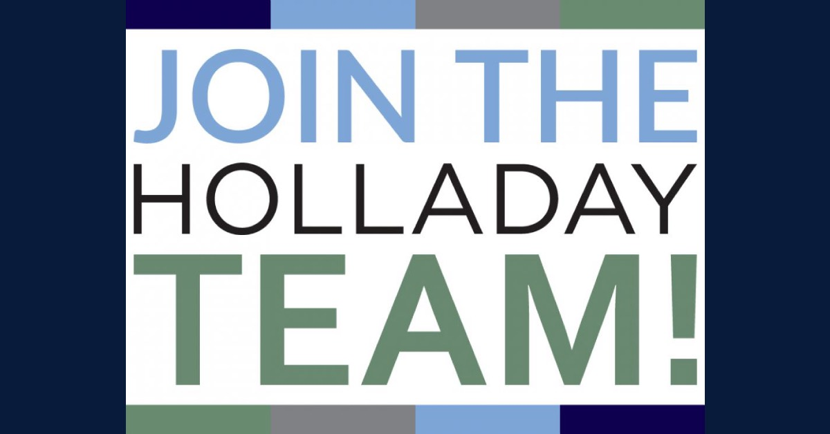 Holladay Properties seeking maintenance technician and project designer