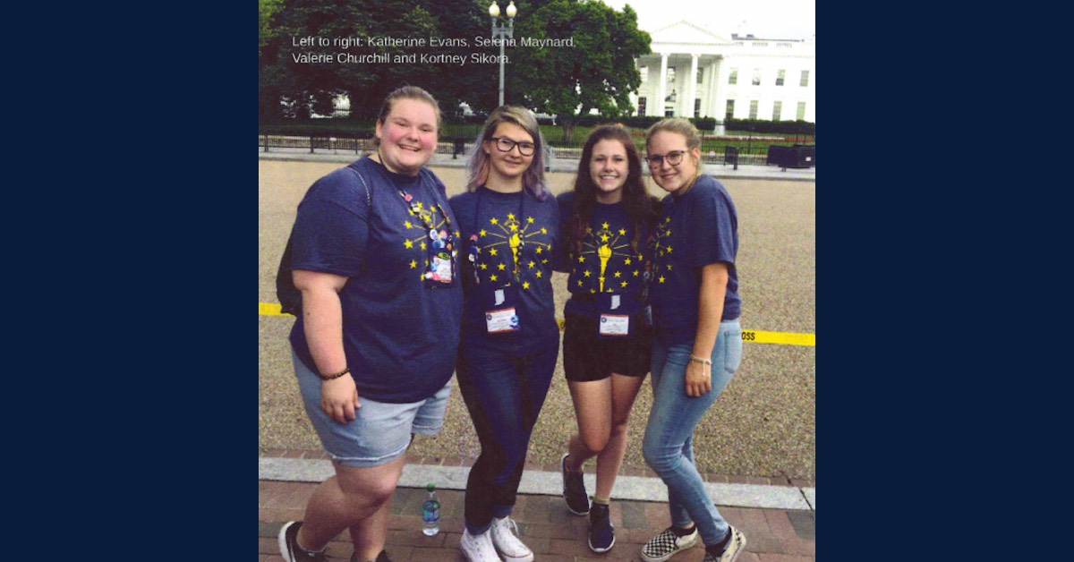 KV REMC sends four students to Washington D.C. in Youth Tour program