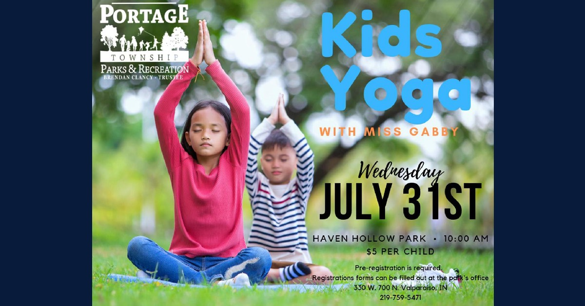 Yoga in the Park with Miss Gabby
