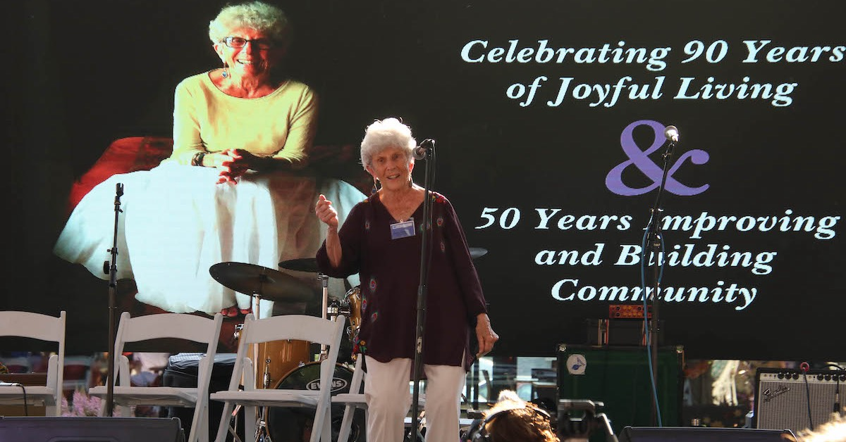 Loie-Palooza party-goers honor a lifetime of community building