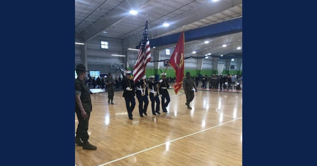 MCHS MCJROTC cadets attend national military drill camp