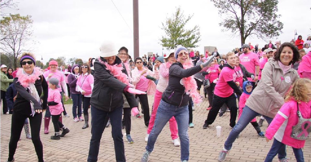 Making Strides Against Breast Cancer Kick Off – Celebrating More Birthdays One Step At a Time