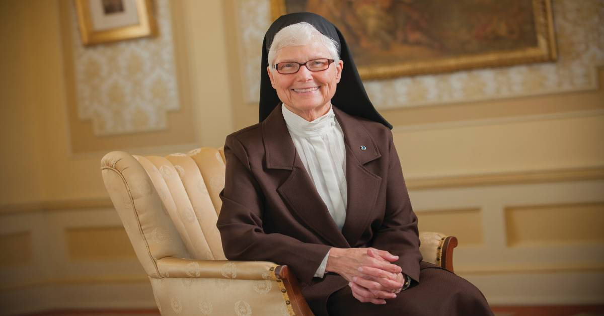 Sister M. Elise Kriss to Retire as President of the University of Saint Francis in June 2020
