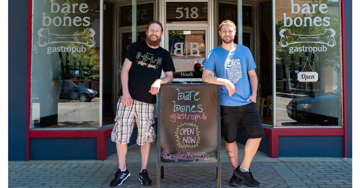 Success of newly-formed La Porte Economic Advancement Partnership continues with opening of Bare Bones Gastropub