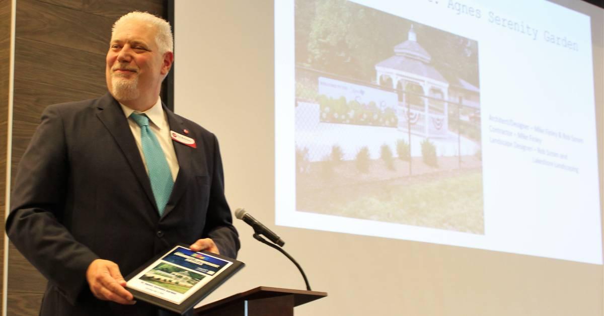 Award celebrates Serenity Garden's imprint on community