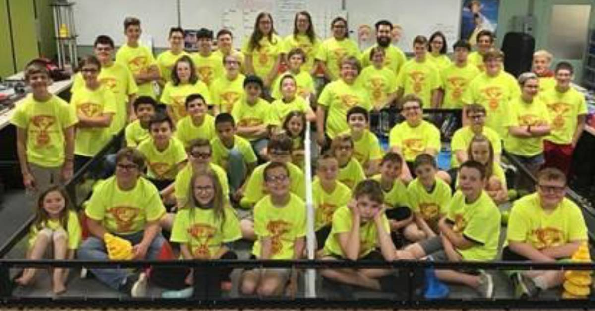 Portage Robotic's Summer Robo-Camp a Big Hit for Young Robotics Enthusiasts