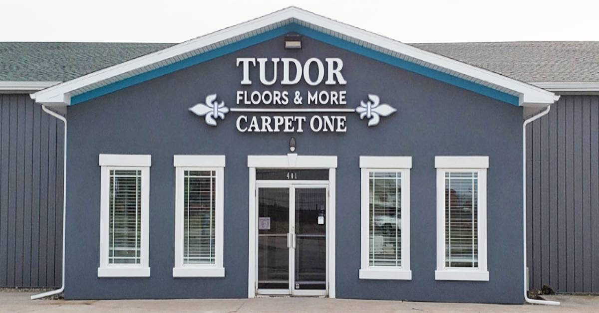 The History Behind Tudor Floors & More Carpet One's New Location