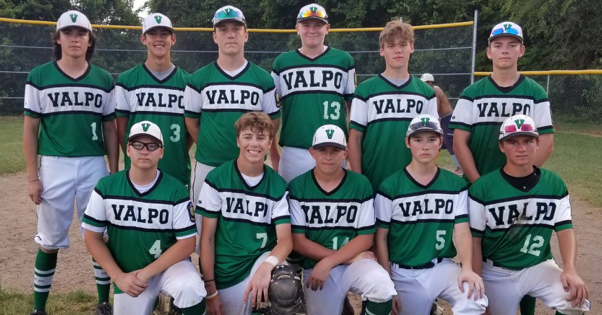 Valpo American Legion Post 94 Juniors Black Baseball beats Region Legion Expos Juniors 18-12