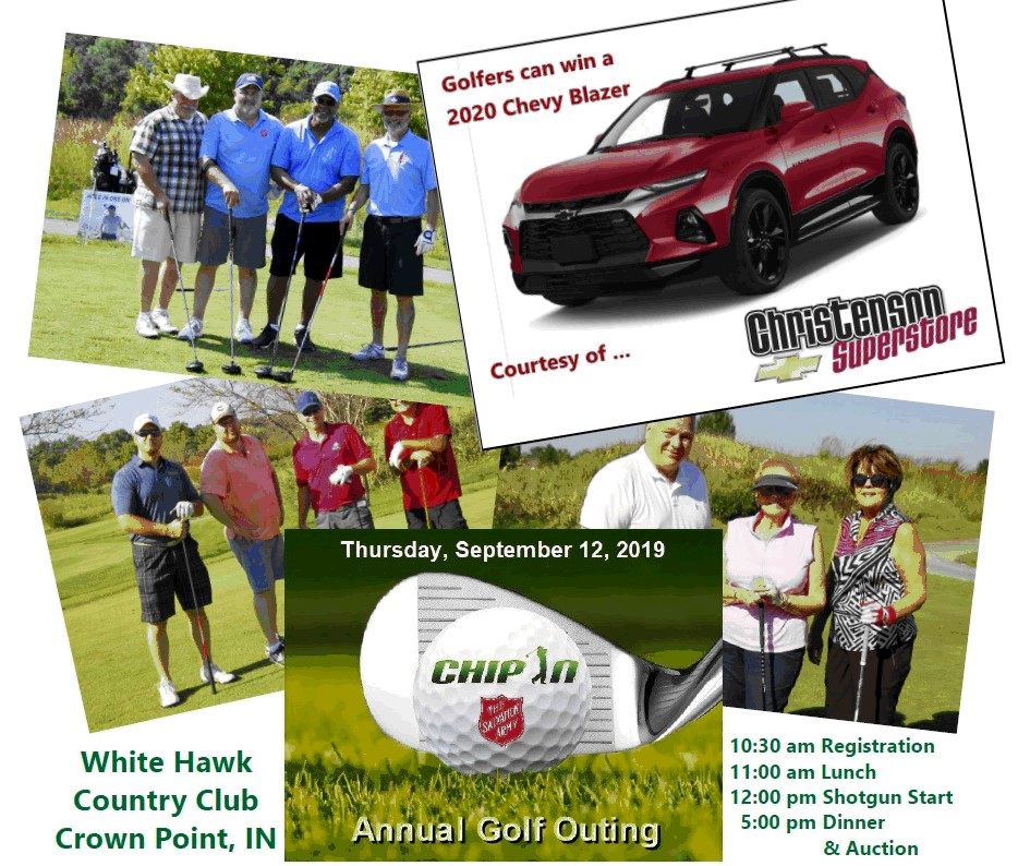 """""""Chip In"""" golf outing for Salvation Army"""