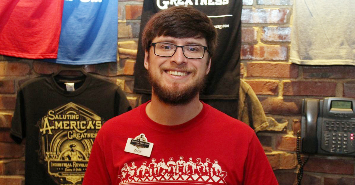An Industrial Revolution Eatery & Grille Employee Spotlight: Zachary Statler