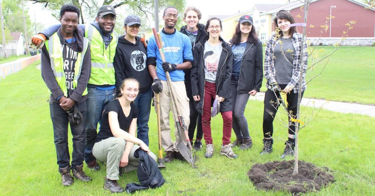Hammond Volunteer Tree Planting