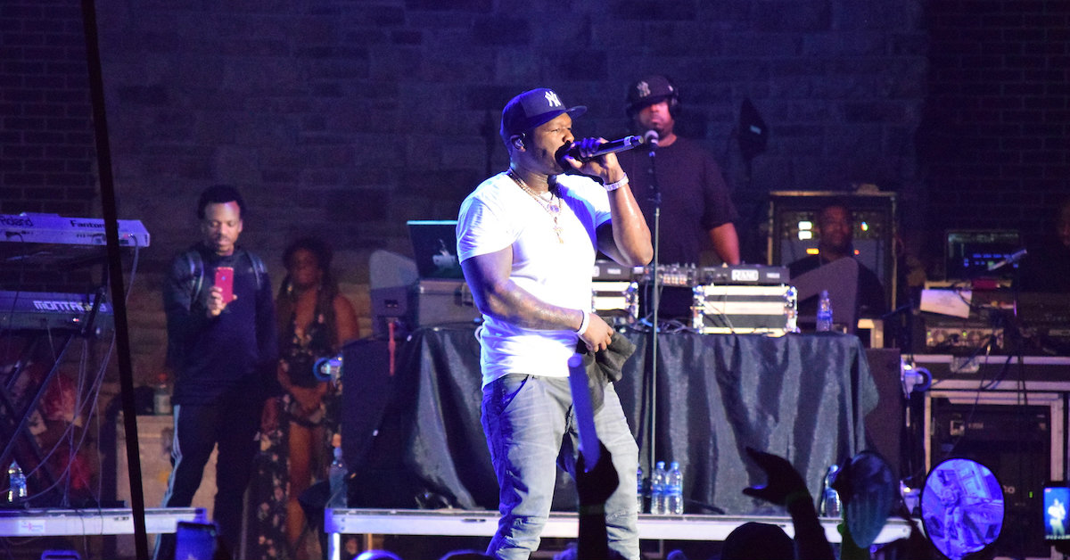 50 Cent and Bone Thugs-N-Harmony bring down the house at The Pavilion
