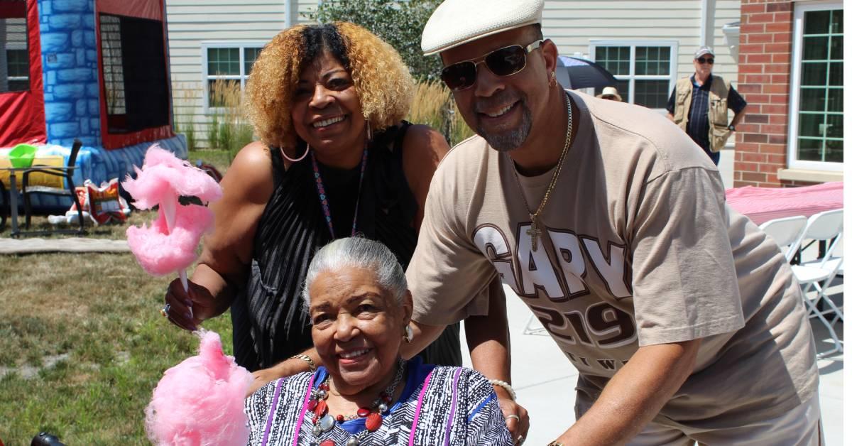 Belvedere Senior Housing celebrates summer with Family Carnival