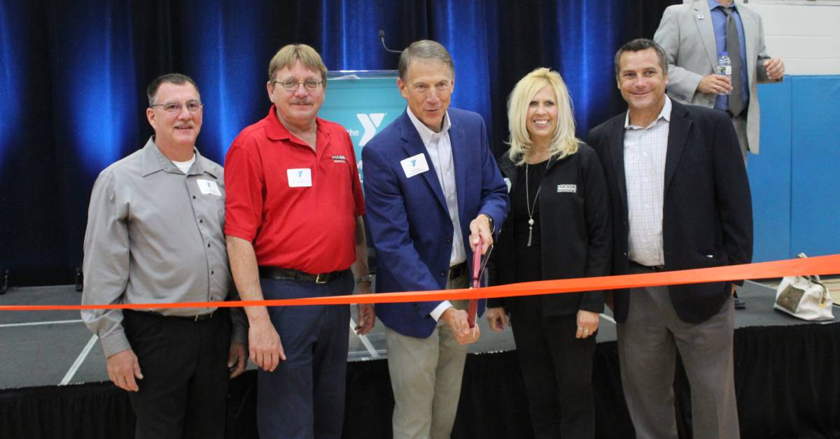 Hasse Construction, Inc. completes Hammond Family YMCA's total renovation