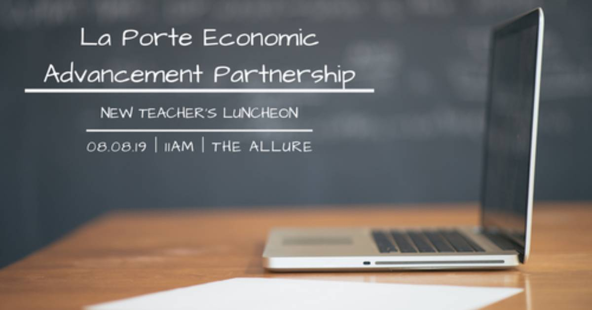 2019 New Teachers Luncheon