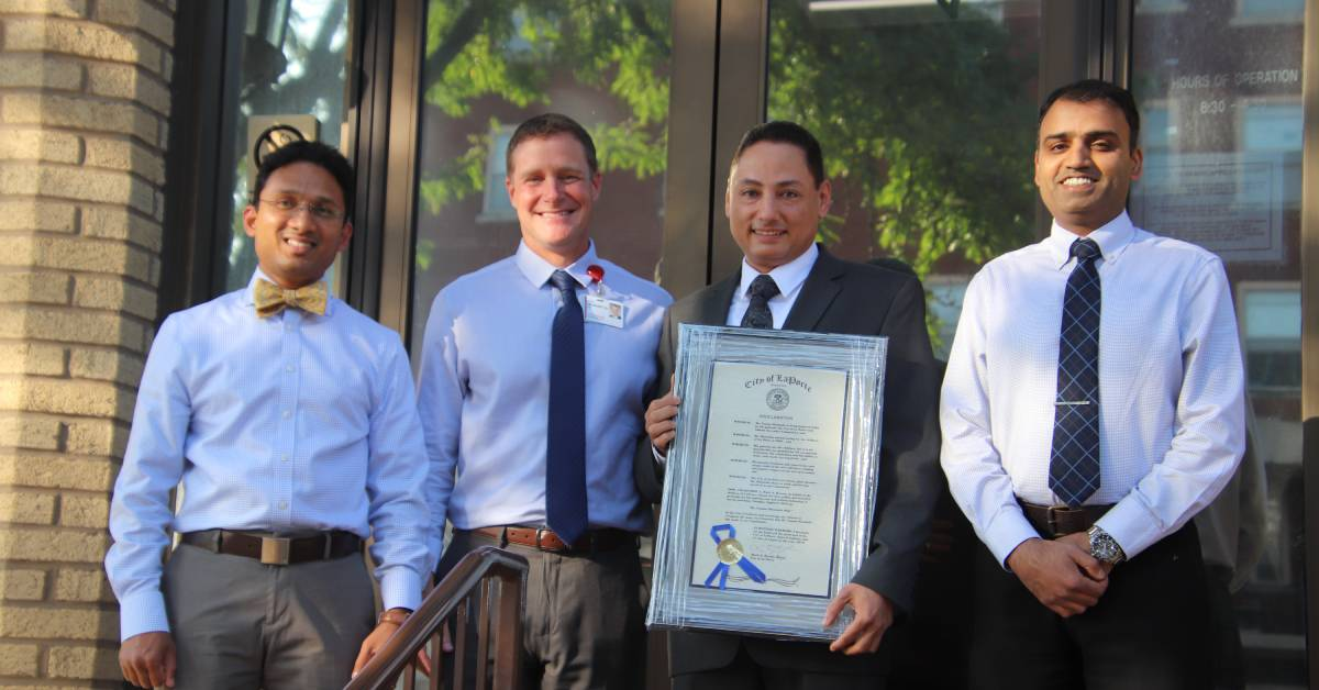 August 6, 2019 proclaimed Dr. Moustafa Day