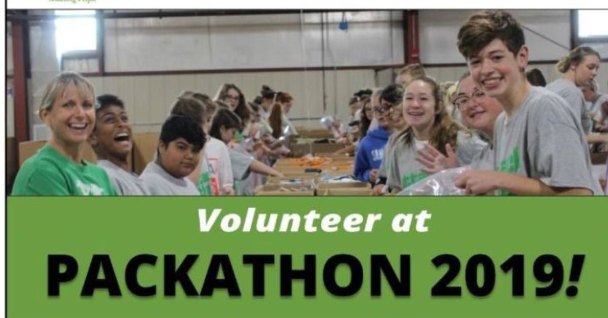 Volunteer at Packathon 2019