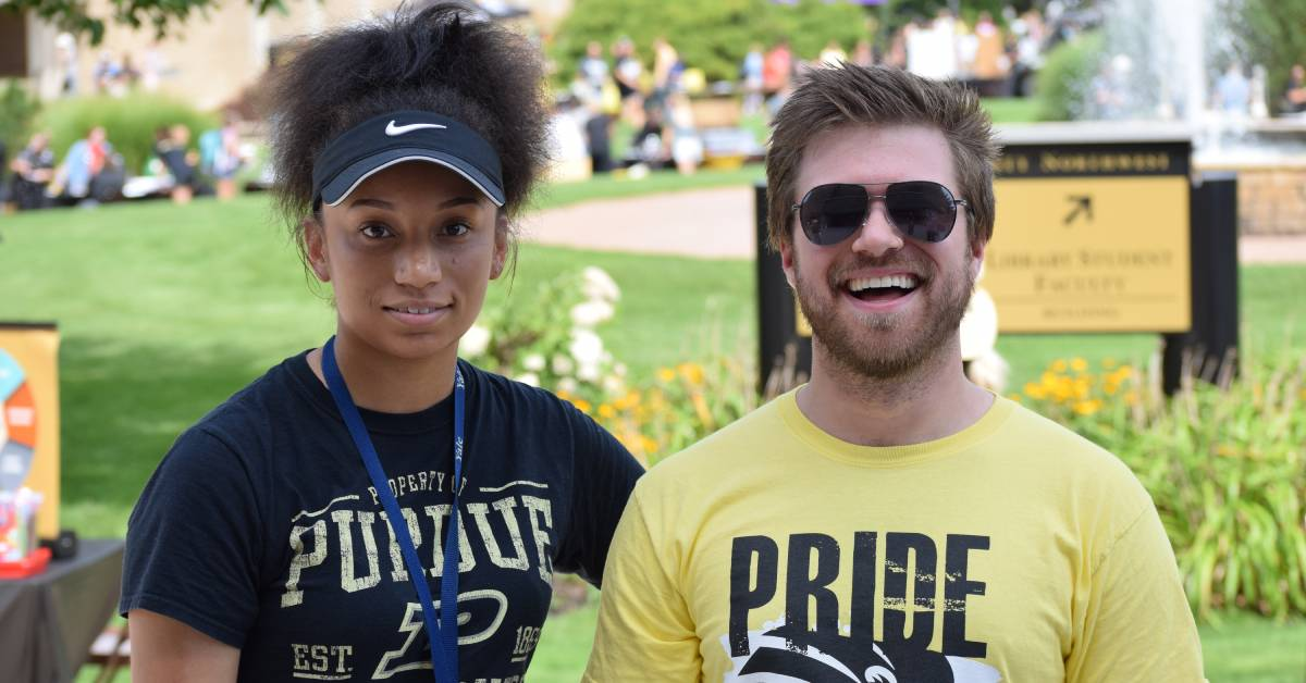 Purdue University Northwest welcome rally gets students excited about school year