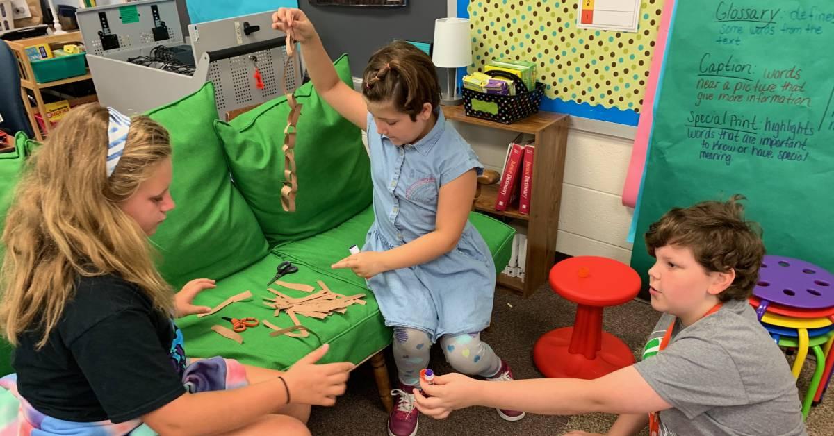 Saylor Elementary students get creative