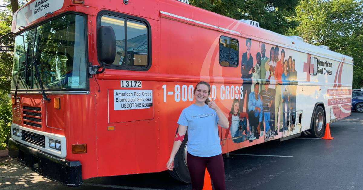 Fact: donating blood changes lives, for donors and receivers