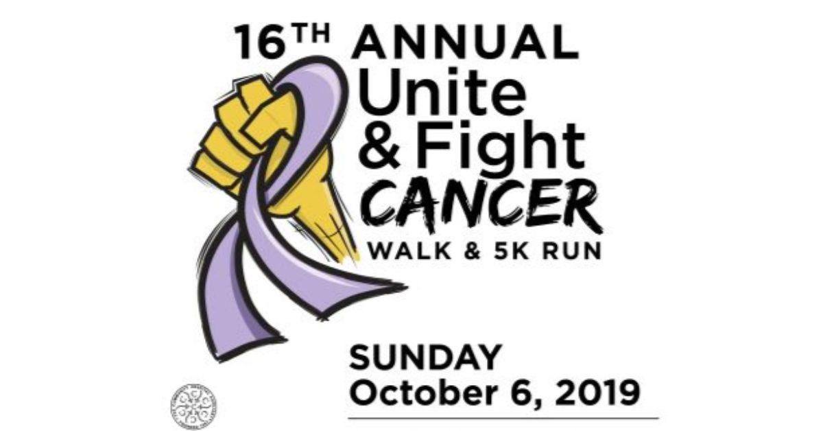 16th Annual Unite & Fight Cancer Walk & 5K Run