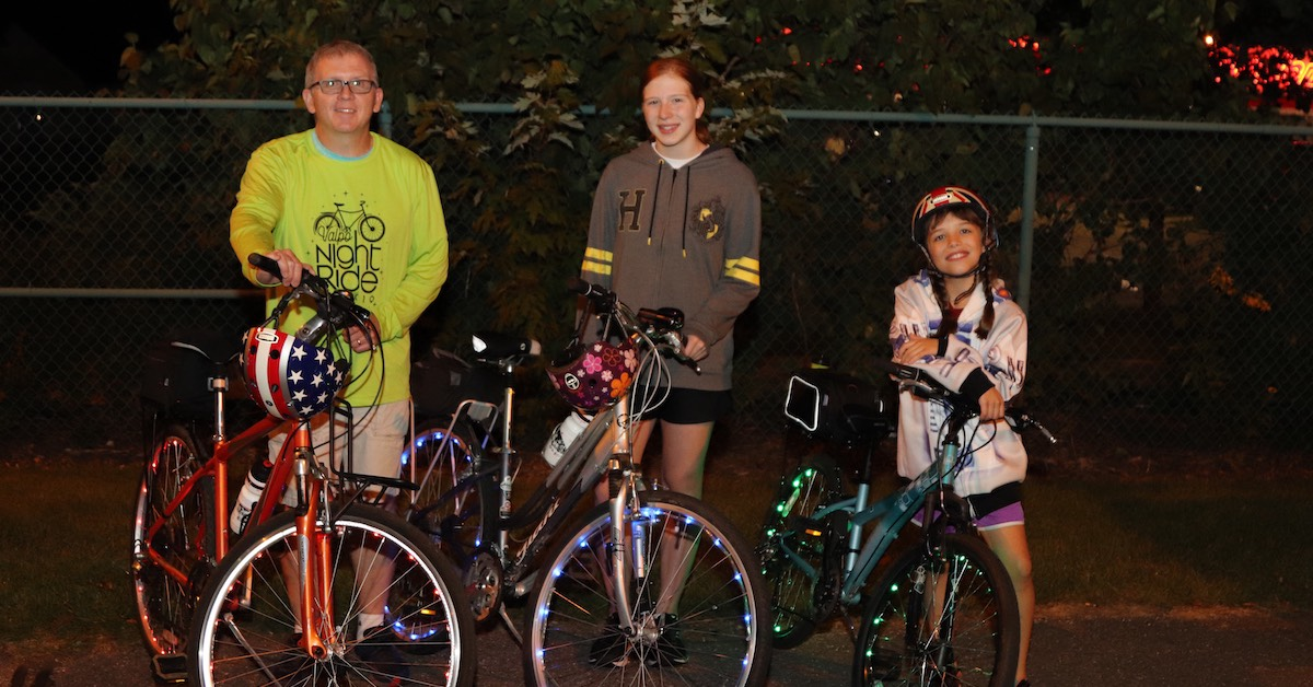 Valpo Parks annual Night Ride brings community together for the ninth year in a row