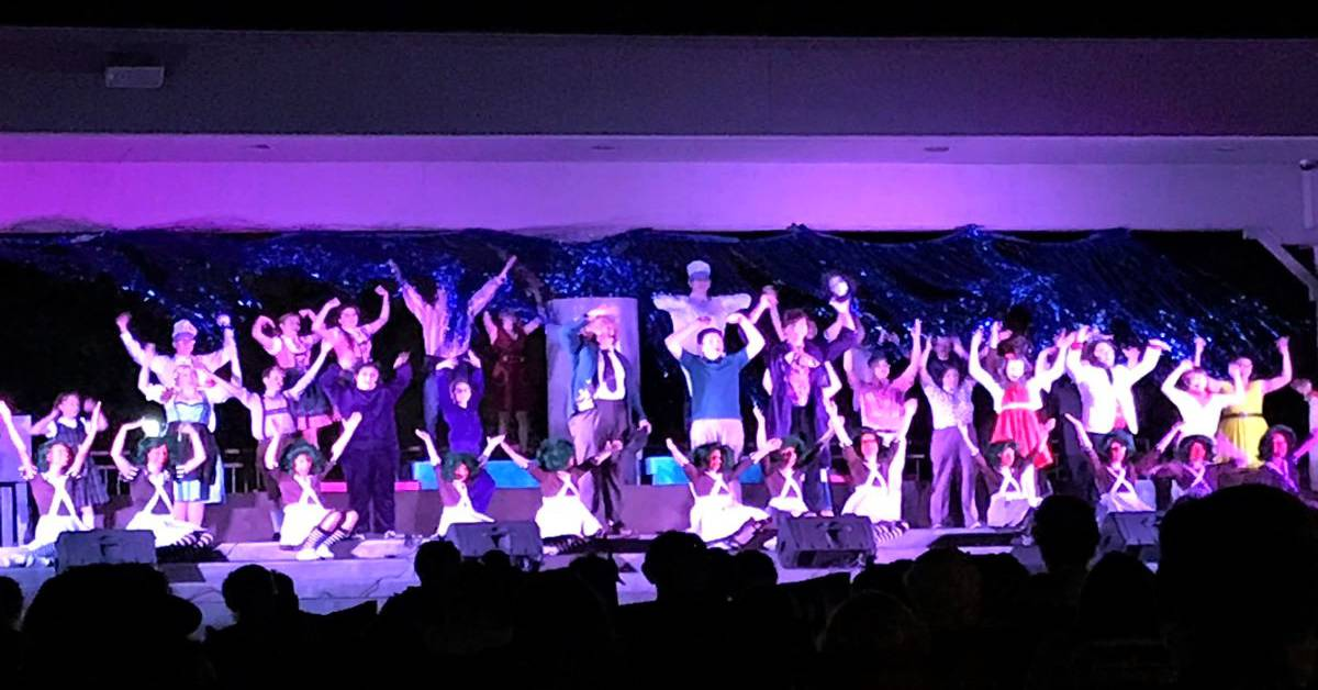 #1StudentNWI: Griffith drama student star in Highland's Willy Wonka In the Park, bring community together