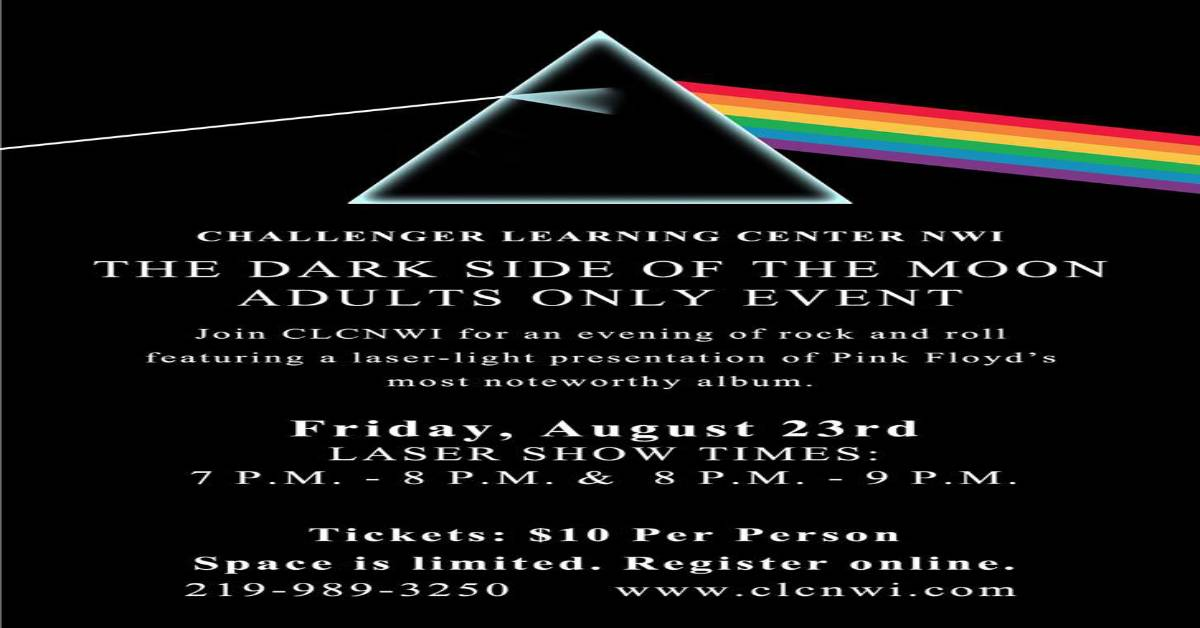 Dark Side of the Moon Laser Show
