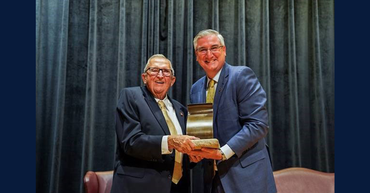 Dr. George Rapp Receives 2019 Sachem Award