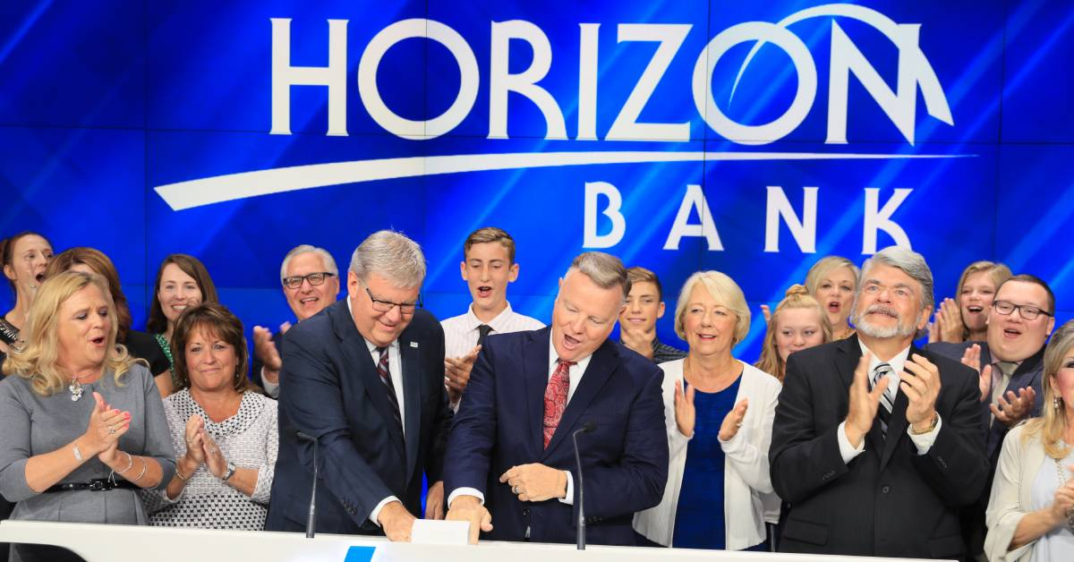 Horizon Bank Celebrates as Largest Bank Headquartered in Northwest Indiana