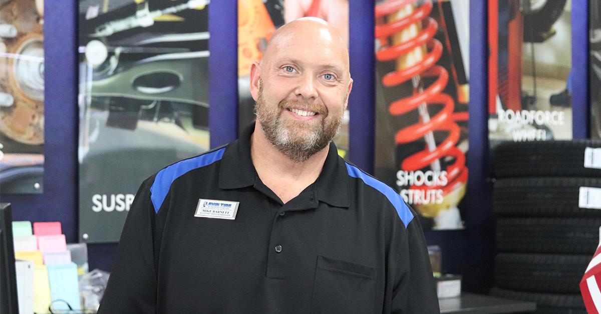 A Levin Tire & Service Centers Employee Spotlight: Mike Barnett