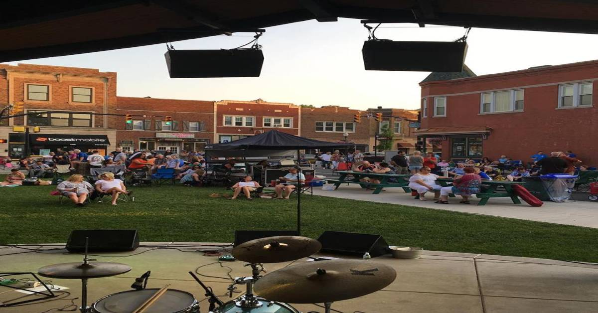 Sheridan Plaza Concert Series Whiting, Indiana