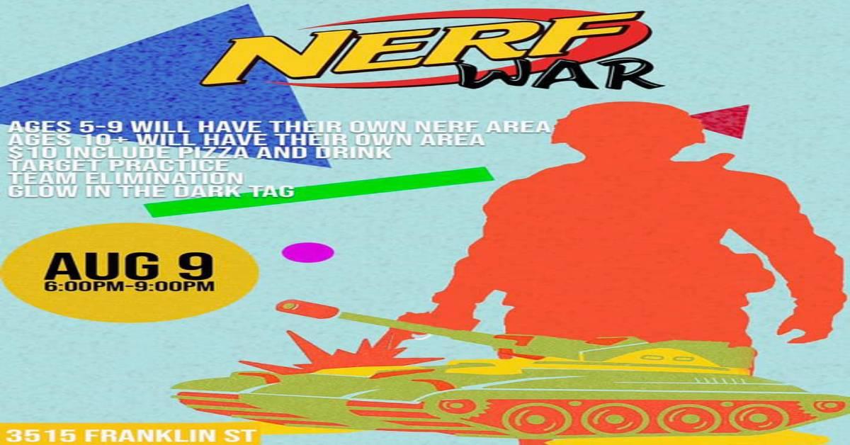Community Nerf War