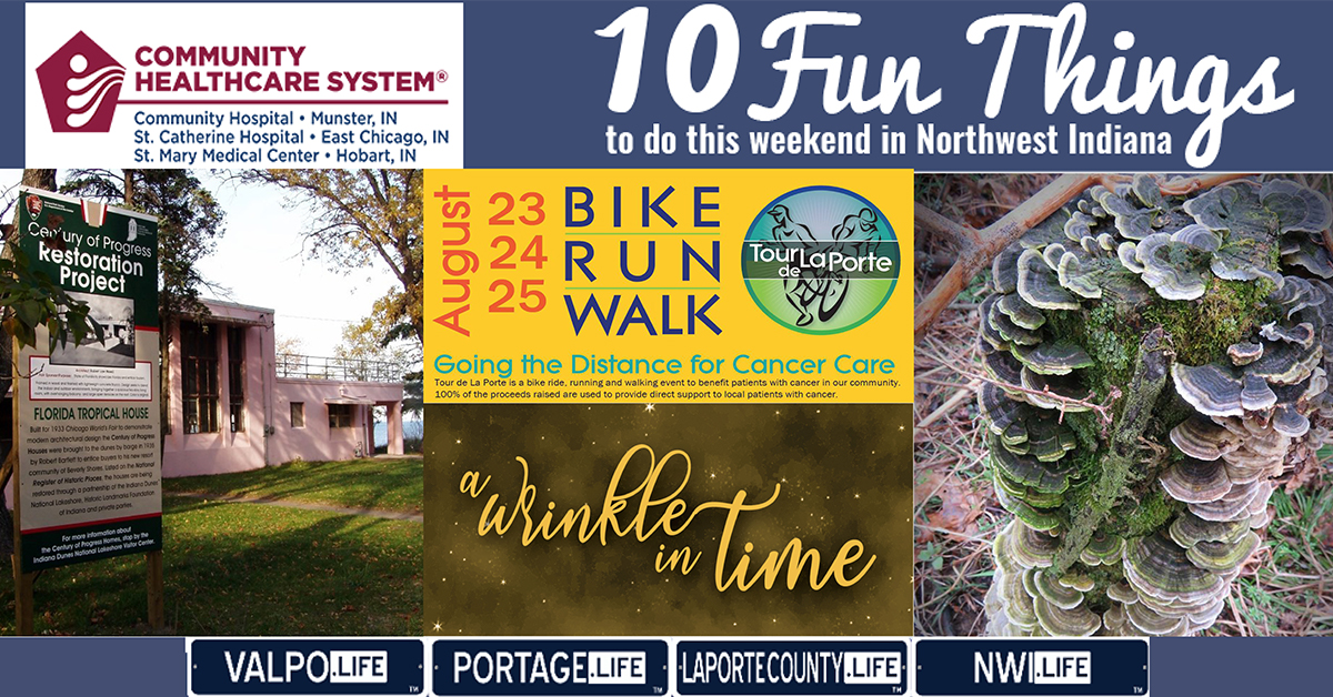 10 Fun Things to do this weekend in NWI August 23-25, 2019
