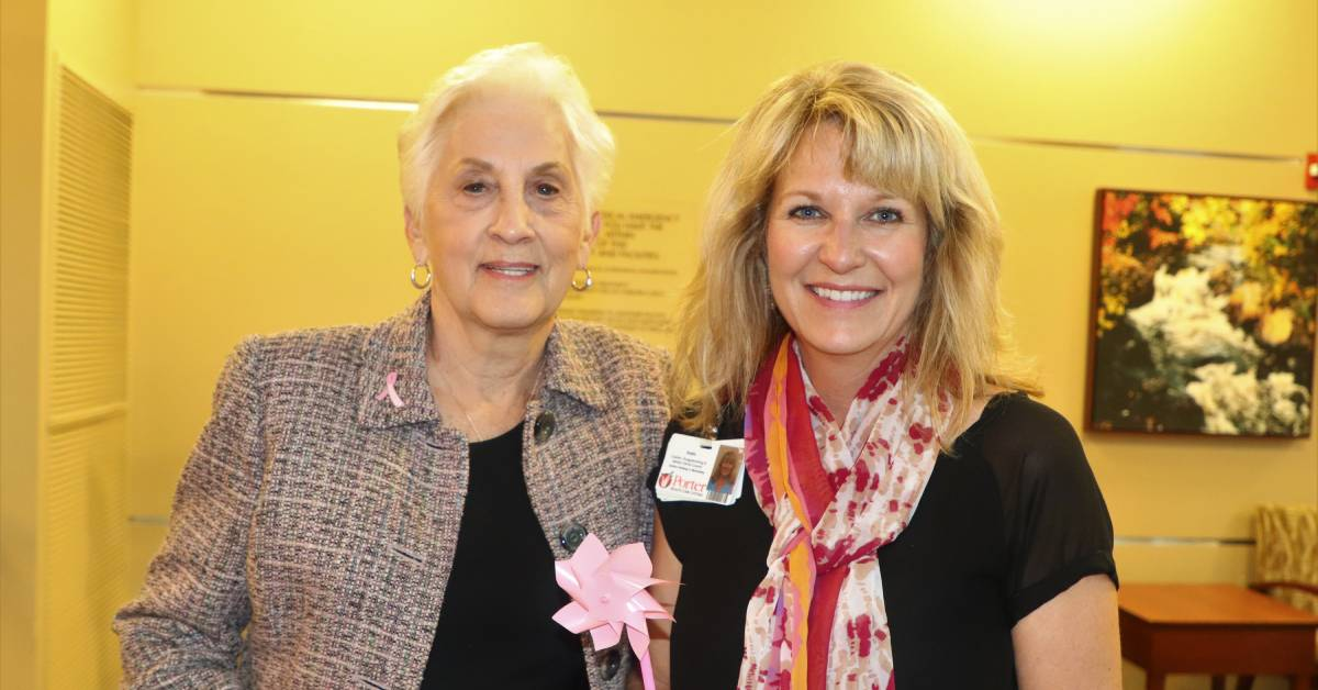 Blow Away Breast Cancer at Porter Regional Hospital