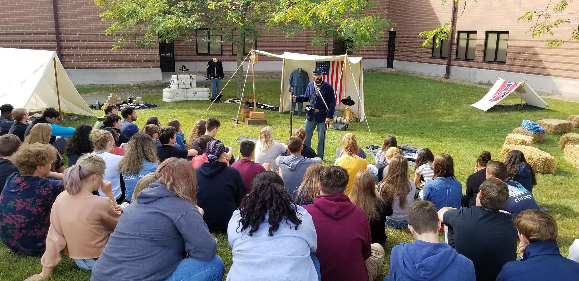 CHS attends Civil War Camp