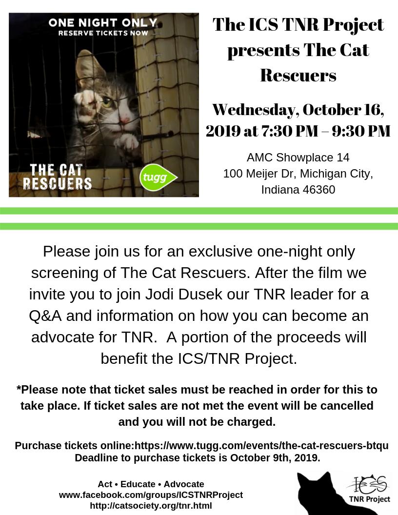 ICS TNR Project presents The Cat Rescuers